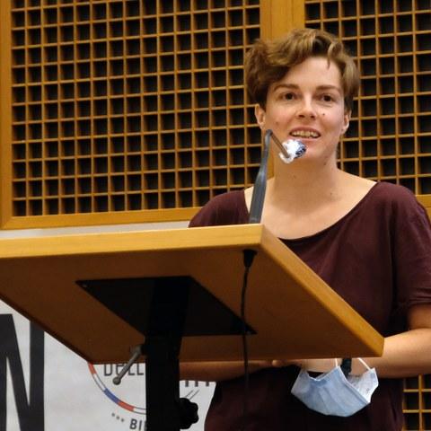 Bianca Elzenbaumer, co president CIPRA International (c) Stefano Ceretti (7). Vergrösserte Ansicht