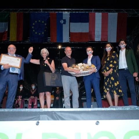 Ceremony for Alpine Town of the Year (c) Stefano Ceretti (2). Vergrösserte Ansicht