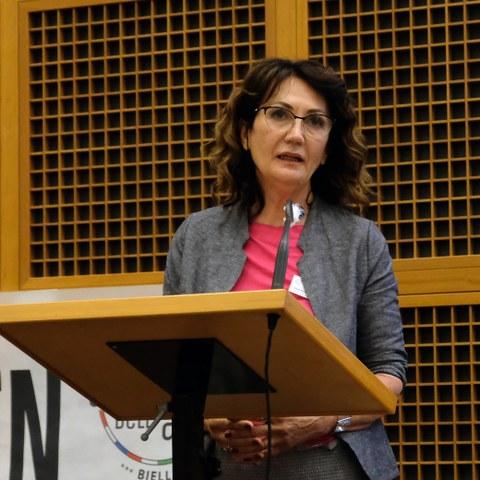 Vanda Bonardo, president CIPRA Italy (c) Stefano Ceretti (8). Vergrösserte Ansicht