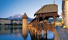 Luzern mit Pilatus