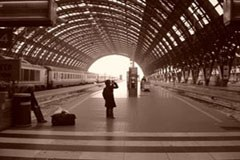 Milano Central, der Hauptbahnhof von Mailand