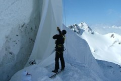 Einrichten einer Gletscherabdeckung