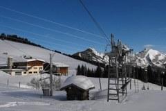 Das Skigebiet in Abondance/F