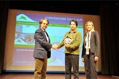 """Viel Lob für die Alpenkonvention: Sie erhielt den """"Premio Montagna Italia""""."""