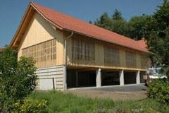 Bauen aus Holz ist eine der drei Säulen, auf die sich das erfolgreiche Energiekonzept der Gemeinde Wildpoldsried stützt.