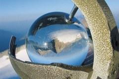 Sonnenscheinautograph mit der Goldbergspitze in den Hohen Tauern/A