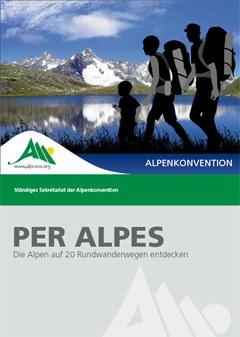 Per Alpes enthält viele hilfreiche Informationen, um die vielfältigen Landschaften aber auch lokale kulturelle Besonderheiten der Alpen per piedes und mit den öffentlichen Verkehrsmitteln zu entdecken.
