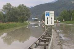 Überschwemmung in Feldkrich 2005