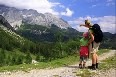 Wandern, Familie, Dolomiten