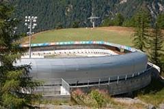 Bobbahn Olympia Turin