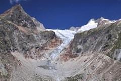 Mont Blanc Gletscher Pre de Bar