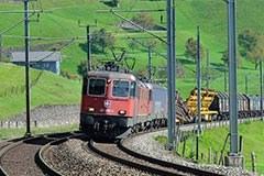 Verkehr, Güterzug der SBB