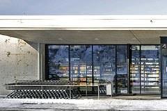 Passivhaus-Supermarkt