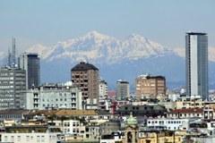 Mailand, Makroregion, Stadt, Berge