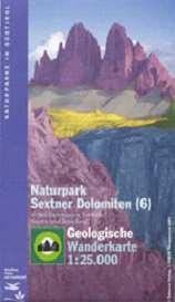 Sextner Dolomiten - Geologische Wanderkarte
