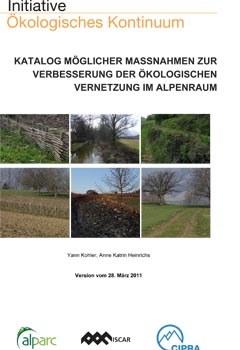 Katalog möglicher Massnahmen zur Verbesserung der ökologischen Vernetzung im Alpenraum