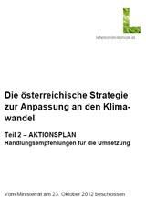 Die österreichische Strategie zur Anpassung an den Klimawandel 2