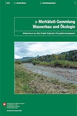 Merkblatt-Sammlung Wasserbau und Ökologie
