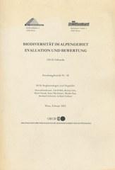 Biodiversität im Alpenraum - Evaluation und Bewertung