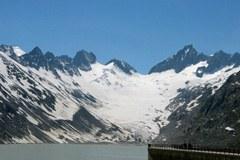 The Oberaar lake