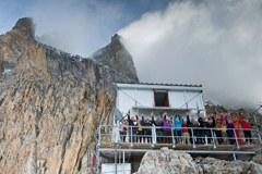 Schutzhütte Promontoire
