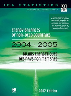 Energy Balances of Non-OECD Countries, 2004-2005