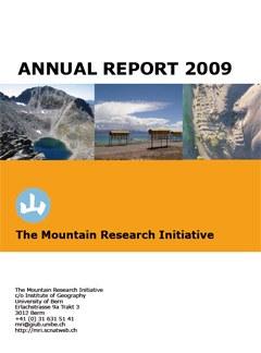 MRI Annual Report 2009