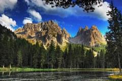 Les provinces italiennes du Tyrol du sud, du Trentin, de Pordenone, de Belluno et d'Udine avaient déposé une demande commune à l'UNESCO.