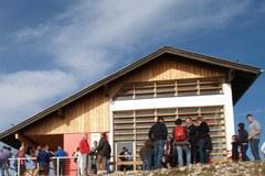 """Nouvelle destination d'excursion - la """" Zehner-Haus """" dans le Hausberg, près de Villach, a fait peau neuve."""