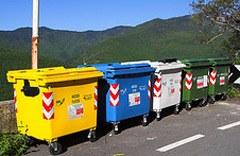 Commune alpine : un tri de déchets exemplaire.