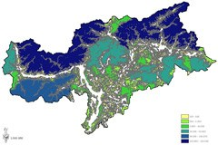 Les régions inexploitées du Tyrol du Sud