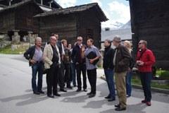 """Für """"Allianz in den Alpen"""" ist der gemeinsame Erfahrungsaustausch einer der zentralen Punkte für eine nachhaltige Entwicklung im Alpenraum."""