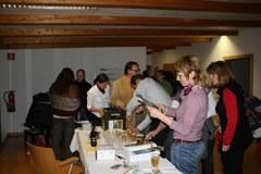 La rencontre a été l'occasion de découvrir de nouveaux produits de territoires alpins qui misent sur le développement durable.