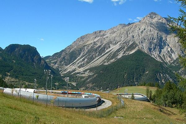 Un lourd héritage: l'entretien de la piste de bob des JO de Turin 2006 a coûté chaque année 2,2millions d'euros. © Francesco Pastorelli