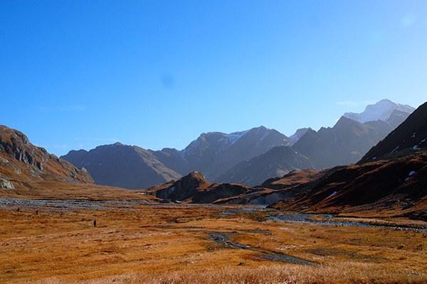 Un joyau naturel : le haut plateau de la Greina est situé dans la zone centrale du « Parc Adula ». © Roland / flickr.com