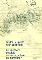 cipra tagungsband 1985 bergwald