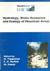 Hydrology, water resources and ecology of mountain areas
