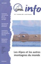 CIPRA Info 67 französisch