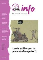 CIPRA Info 70 französisch