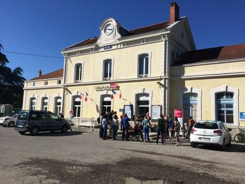 Atelier de diagnostic et propositions d'amélioration de la gare de Die et de ses abords (c) CIPRA France