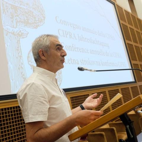 Francesco Pastorelli, director CIPRA Italy (c) Stefano Ceretti (4), enlarged picture.