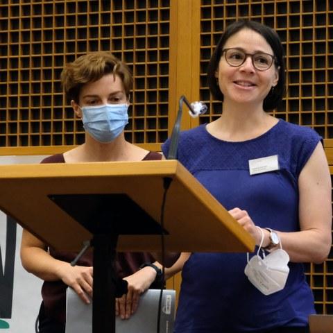 Katharina Conradin, ex president CIPRA International (c) Stefano Ceretti (6), enlarged picture.