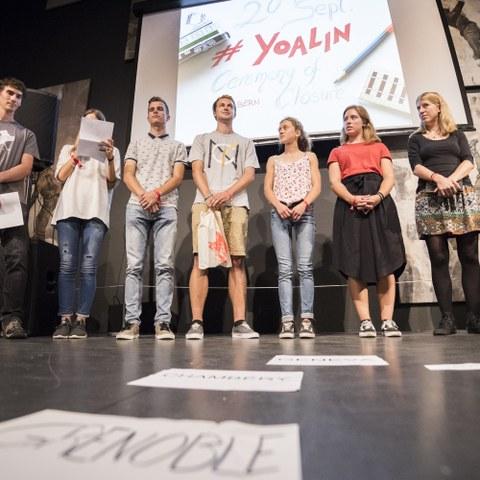 Manifestazione di chiusura e premiazione a Berna/CH. © davidschweizer.ch, enlarged picture.