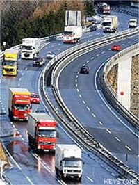 LKW-Verkehr