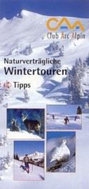folder caa naturverträgliche wintertouren