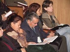 KonferenzteilnehmerInnen in Bischkek