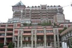 "Hotel ""Badrutt's Palace"" in St. Moritz"