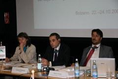 Vorsitz und ständiges Sekretariat der Alpenkonvention