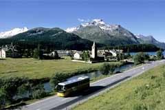 In molte località periferiche ci sono piccole scuole, come ad esempio a Maloja/CH.