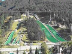 Trampolini di salto con gli sci a Torino: Chiusi e inutilizzati.